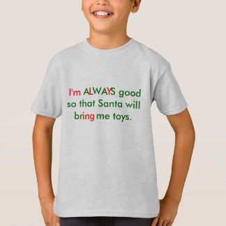 Sarcastic Christmas Shirt for kids
