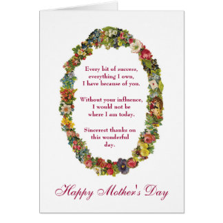 Sarcastic Happy Mother's Day from Shrink Card