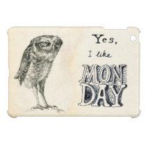 Sarcastic owl iPad mini cover