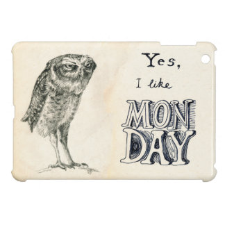 Sarcastic owl iPad mini cover