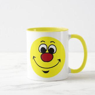 Sarcastic Smiley Face Grumpey Mug