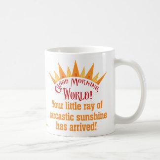 Sarcastic Sunshine Coffee Mug