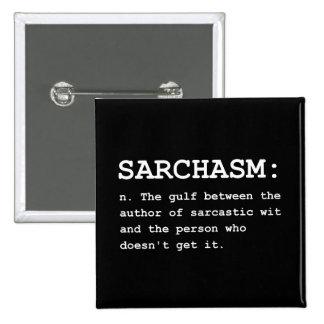 Sarchasm Definition Button