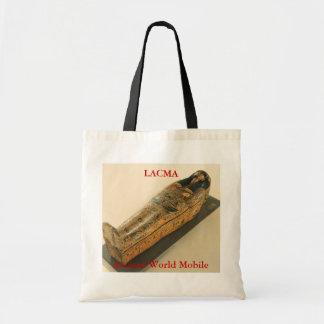 Sarcófago antiguo del móvil del mundo bolsa tela barata