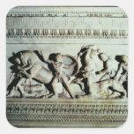 Sarcófago de Alexander Pegatina Cuadrada