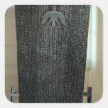 Sarcófago de Djedhor, período Ptolemaic Calcomanía Cuadradas Personalizadas