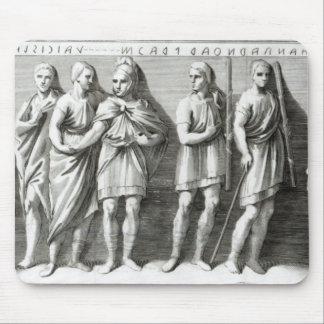 Sarcófago de Etruscan Alfombrilla De Ratón