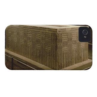 Sarcófago de la cucaracha de Abu (piedra caliza) ( iPhone 4 Case-Mate Protectores