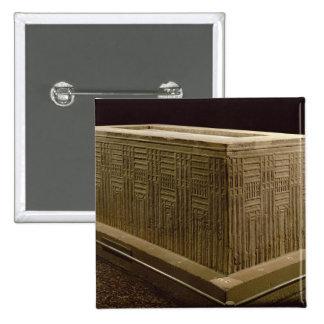 Sarcófago de la cucaracha de Abu (piedra caliza) ( Pins