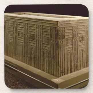 Sarcófago de la cucaracha de Abu (piedra caliza) ( Posavasos De Bebidas