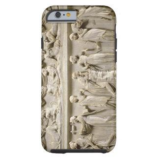 Sarcófago de las musas, romano (mármol) funda de iPhone 6 tough