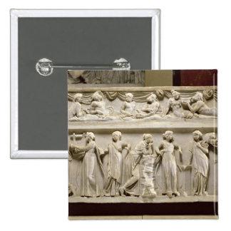 Sarcófago de las musas, romano (mármol) pin