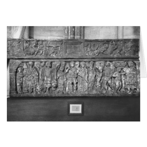 Sarcófago de St. Quitterie Tarjeta