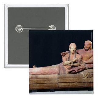 Sarcófago de un par casado, 525-500 A.C. Pin