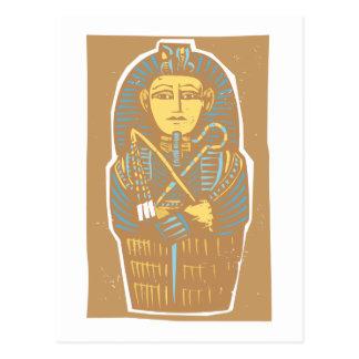 Sarcófago egipcio postales