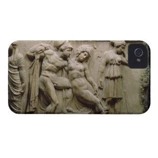Sarcófago griego con una escena que muestra la bat iPhone 4 coberturas