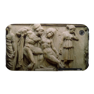 Sarcófago griego con una escena que muestra la bat iPhone 3 Case-Mate funda