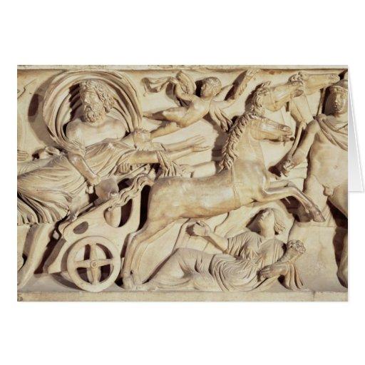 Sarcófago que representa la violación de Proserpin Tarjetas