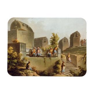 Sarcófagos y sepulcros en el jefe del Harbo Imán