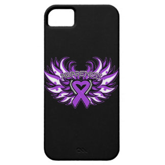 Sarcoidosis Awareness Heart Wings.png iPhone 5 Covers