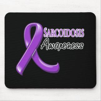 Sarcoidosis Awareness Ribbon Mouse Pad