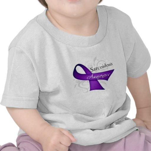 Sarcoidosis Awareness Ribbon Shirts