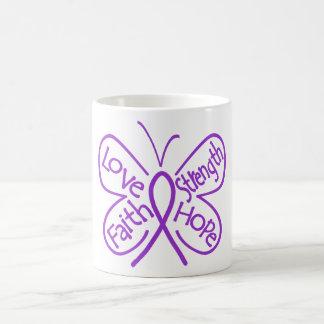 Sarcoidosis Butterfly Inspiring Words Mugs
