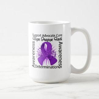 Sarcoidosis Cancer Inspirations Spiral Ribbon Mugs