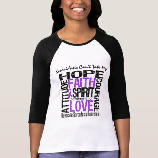 Sarcoidosis Can't Take My Hope Collage T-shirt