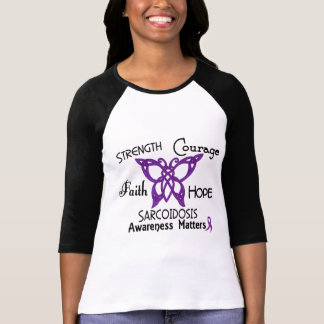 Sarcoidosis Celtic Butterfly 3 T-Shirt