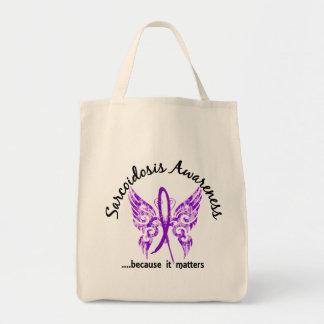 Sarcoidosis de la mariposa 6,1 del tatuaje del Gru Bolsa Tela Para La Compra