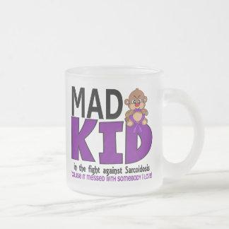 Sarcoidosis enojada del niño tazas de café