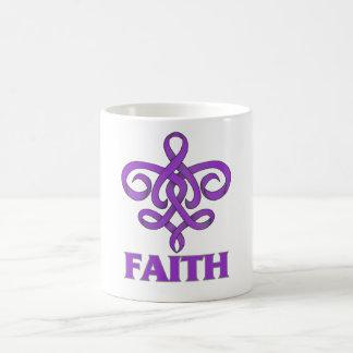 Sarcoidosis Faith Fleur de Lis Ribbon Mug
