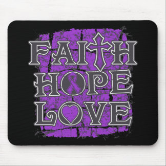 Sarcoidosis Faith Hope Love Mouse Pad