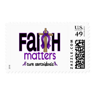 Sarcoidosis Faith Matters Cross 1 Stamps