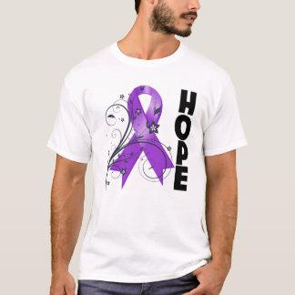 Sarcoidosis Floral Hope Ribbon T-Shirt