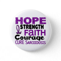 Sarcoidosis HOPE 3 Pinback Button