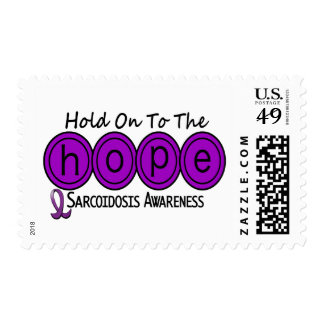 Sarcoidosis HOPE 6 Postage Stamps