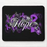 Sarcoidosis Hope Garden Ribbon Mouse Pad