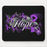 Sarcoidosis Hope Garden Ribbon Mouse Pads