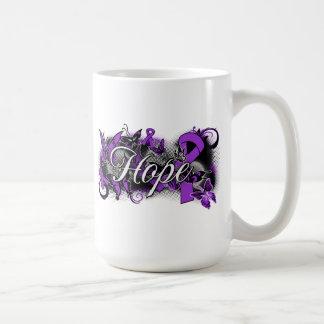 Sarcoidosis Hope Garden Ribbon Coffee Mugs