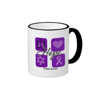Sarcoidosis Hope Love Inspire Awareness Coffee Mugs