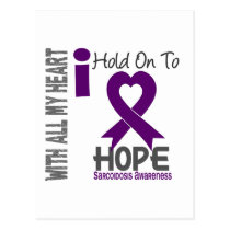 Sarcoidosis I Hold On To Hope Postcard