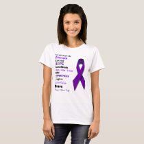 Sarcoidosis Inspirational Words T-Shirt
