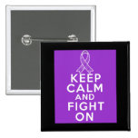 Sarcoidosis Keep Calm and Fight On Button