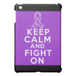 Sarcoidosis Keep Calm and Fight On iPad Mini Covers