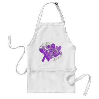 Sarcoidosis Love Hope Cure Adult Apron