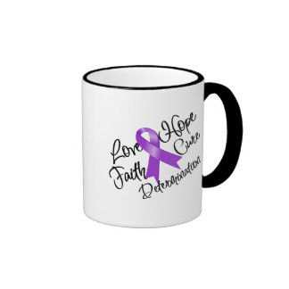 Sarcoidosis Love Hope Determination Mug