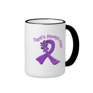 Sarcoidosis There's Always Hope Floral Coffee Mugs