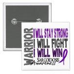 Sarcoidosis Warrior Button